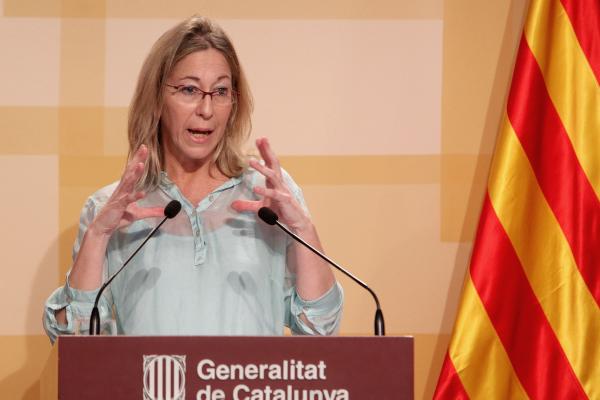 La vicepresidenta y nueva portavoz de la generalidad, Neus Munté. ACn