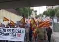 Miles de catalanes reclaman la libertad religiosa y rechazan la hispanofobia en las calles de Hospitalet, Cataluña