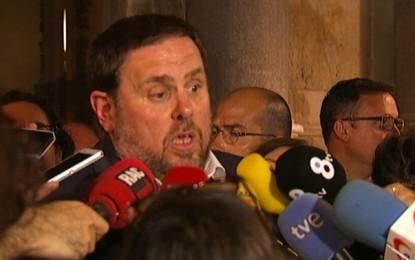 """Artur Mas y Junqueras salvan los muebles en falso ante un claro fracaso con un """"Principio de acuerdo"""""""