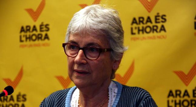 Muriel Casals Couturier apoyará la candidatura de Artur Mas Gavarró