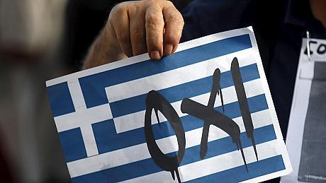 """""""Oxi"""", es decir, """"NO"""" en legua española. Grecia ha dicho 'no' a los recortes injustos de la Troika"""