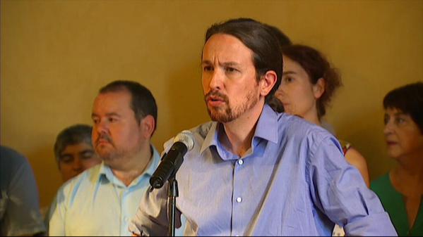 Pablo Iglesias, Podemos, ICV, EUIA presenten el acuerdo para las generales