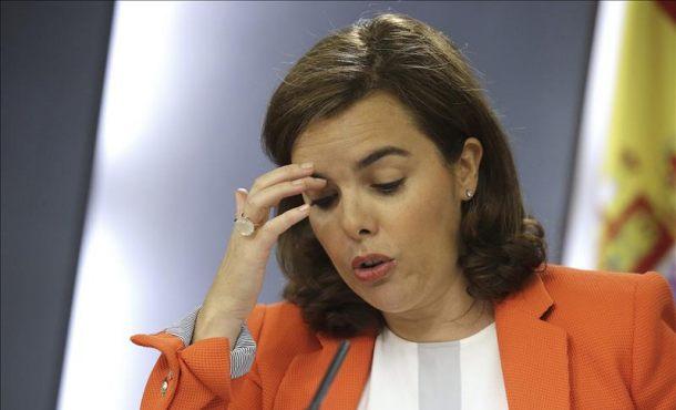 Sáenz de Santamaría el único titular de la soberanía son los ciudadanos y el conjunto del pueblo español
