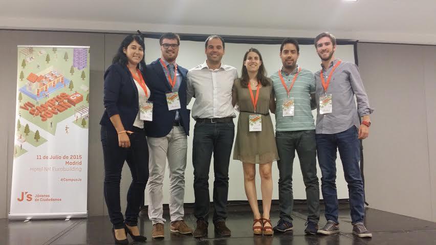 VII Campus Joven de Ciudadanos (C´s) celebrado en Madrid.