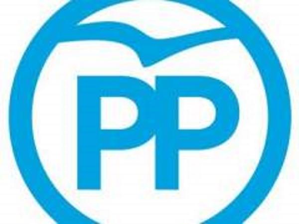nuevo logotipo del pp con buitres carroñero y carrán