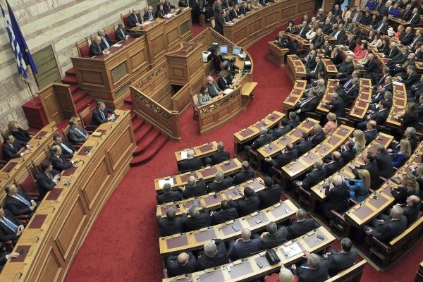 tercer rescate apropado por el parlamento griego