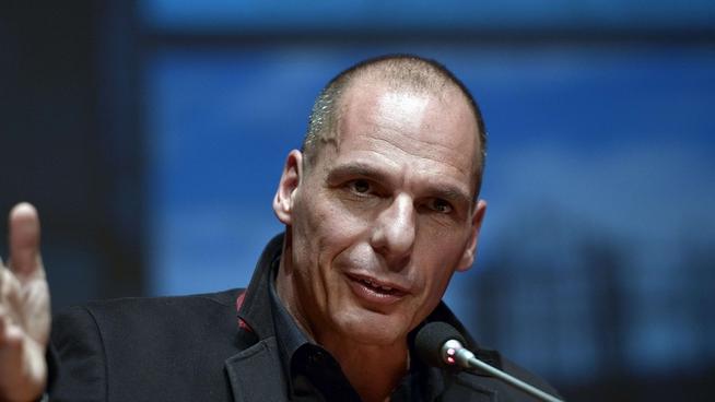 varoufakis, ministro de economía y de finanza de Grecia,