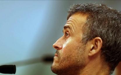 """Luis Enrique: """"todo puede pasar"""" y confía ciegamente en la remontada de 4-o ante Athletic Club"""