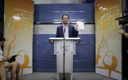 """El PSOE registra 50 preguntas sobre una """"reunión de la vergüenza"""" de F.Díaz con Rato"""