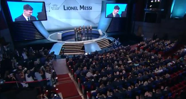 Leonel Messi mejor jugador europeo del año