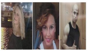 Marina Okarynska y Laura; y el sospechoso asesino Morate