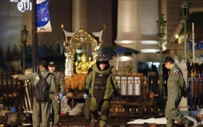 Varios extranjeros entre los 12 muertos por la explosión de una bomba en Bangkok, Tailandia