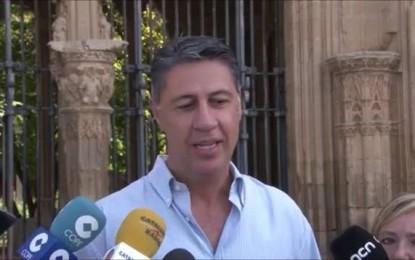 Xavier García Albiol celebra que los separatistas contemplen perder el 27-S y lo atribuye a su candidatura