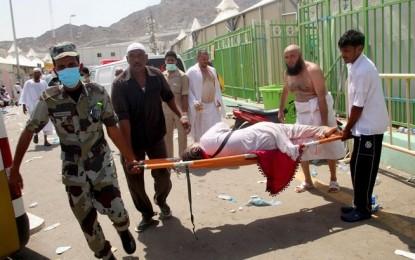 Al menos 717 peregrinos musulmanes muertos en La Meca por la aglomeración