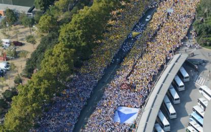 Arranca el puntero de Vía de Libertad con olas de víctimas del separatismo catalán