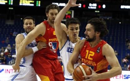 La selección española cumplió con el pronóstico y se impuso a la de Islandia