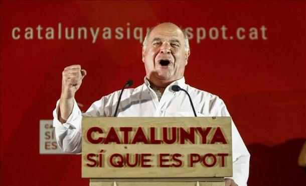 El candidato al27-s por (CSQP), Lluís Rabell,  EFE