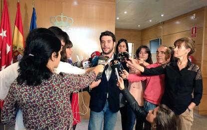 """Cesar Zafra (C's) exige al Gobierno del PP Madrid dejar """"de tirar el dinero de los madrileños"""""""