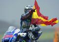 El español Jorge Lorenzo (Yamaha YZR M1) alcanza un nuevo sueño: Su tercer título de Moto GP