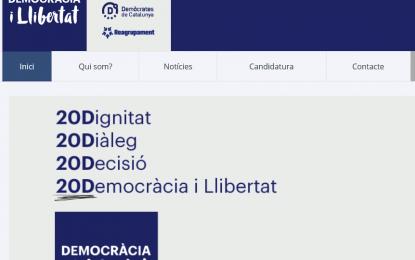 """Artur Mas esconde las siglas corruptas de (CDC) y ve en (DL) la """"semilla"""" para un partido nuevo"""