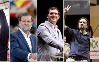 PSOE y C's, PP y Podemos pactan el debate a 4 coincidiendo con el partido de la Selección