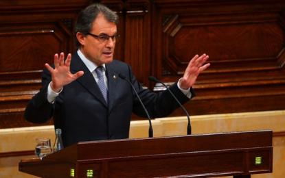 Cataluña reserva los días 4, 5 y 7 de enero para un posible pleno de investidura de Artur Mas