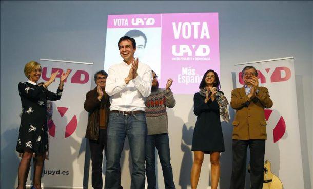 Herzog (UPyD) muestra preocupación por el panorama político que se avecina tras el 20-D