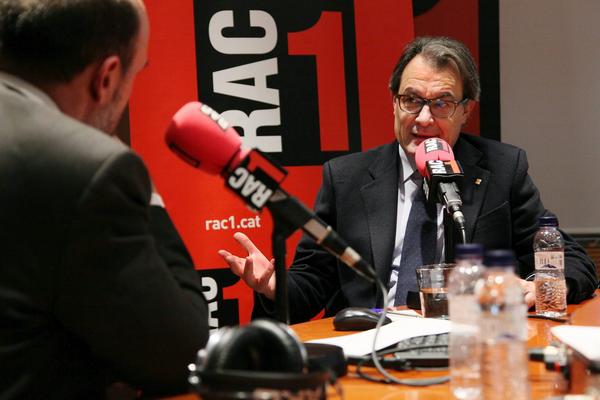 "Artur Mas acusa a ""España"" de los robos de cables cobre de Renfe en Cataluña"