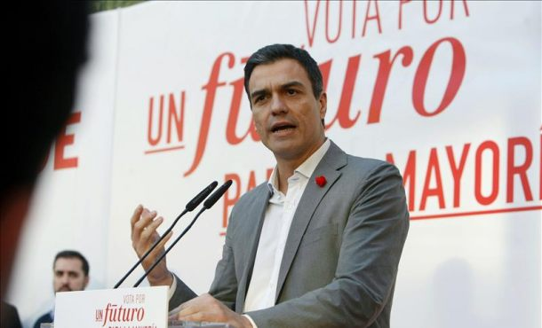 """Sánchez: """"Nunca negociaré nada que afecte la integridad territorial España; """"Así le trasladé a Iglesias"""""""