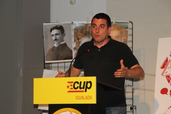"""CUP pide votar a PODEMOS """"porque es el único partido que permite el referéndum"""" catalán"""