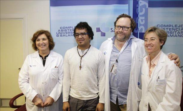 El hospital de Salamanca consigue realizar el primer trasplante de cara sin rechazo en España
