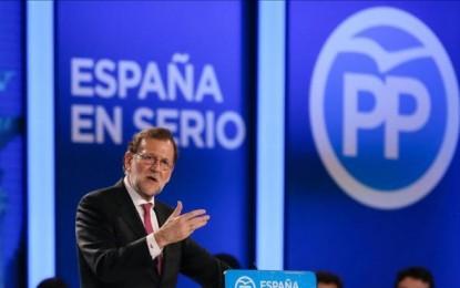 """Rajoy cierra campaña alertando de los pactos """"experimentos, a las tertulias y a la nada"""""""