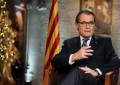 """Artur Mas pide """"unidad"""" para hacer """"una Cataluña grande"""" en su mensaje de fin de año 2015"""