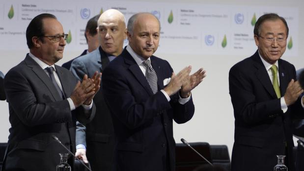 La cumbre del clima de París define la propuesta de acuerdo como histórica, justa y equilibrada