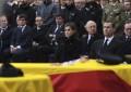 Los reyes presiden en Madrid el funeral por los dos policías asesinados en Kabul