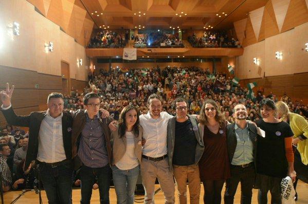 """Iglesias: """"En Cádiz digo lo mismo que en Barcelona: Derecho a Decidir y que voten los catalanes"""""""