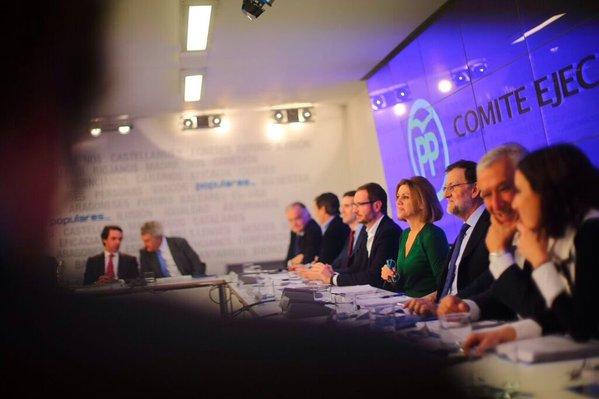 El presidente del PP reúne a la dirección de su partido a pocos días del debate de investidura