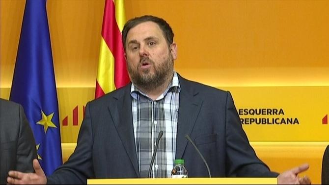 Junqueras abandona la Alcaldía de San Vicente dels Horts para ponerse al servicio de Cataluña