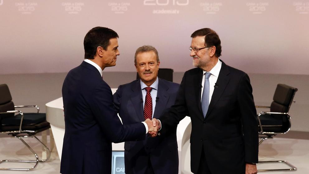 Debate completo del cara a cara entre Rajoy (PP) y Sánchez (PSOE) en Academia de la Televisión