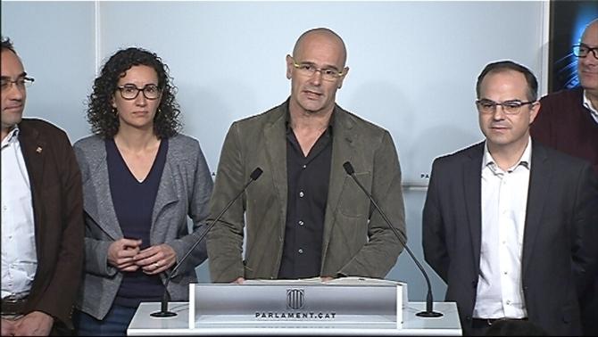JxSí y la CUP cierran un Preacuerdo que se someterá a votación en asamblea de CUP el 27D