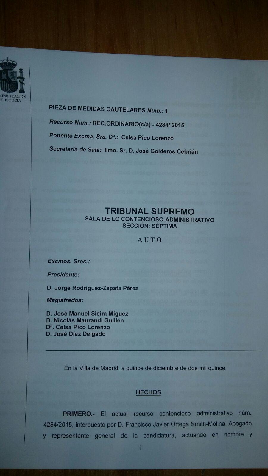 Sentencia del Tribunal Supremo sobre el secuestro de la propaganda electoral de vox. lasvocesdelpueblo.