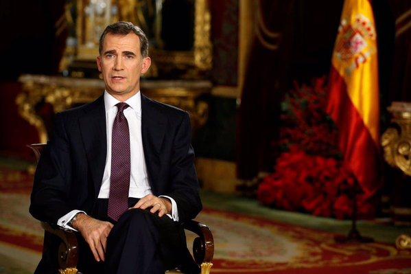 """Discursos de Navidad 2015 del Rey Felipe VI: """"Ser y sentirse español es un orgullo profundo"""""""