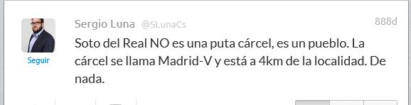 los twitts del concejal de ciudadanos, Sergio Luna (1)