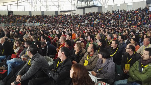 CUP dice 'NO' a Artur Mas en la primera votación con un 47,14% y pasa a la segunda votación