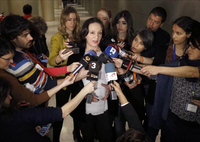 "Bescansa: Es ""asombroso"" que el partido ""más corrupto"" de España acusa a Podemos de ""golpista"""