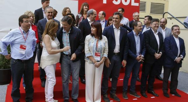 PSOE intensificará reuniones con fuerzas progresistas para Gobierno de cambio: C's, Podemos, IU