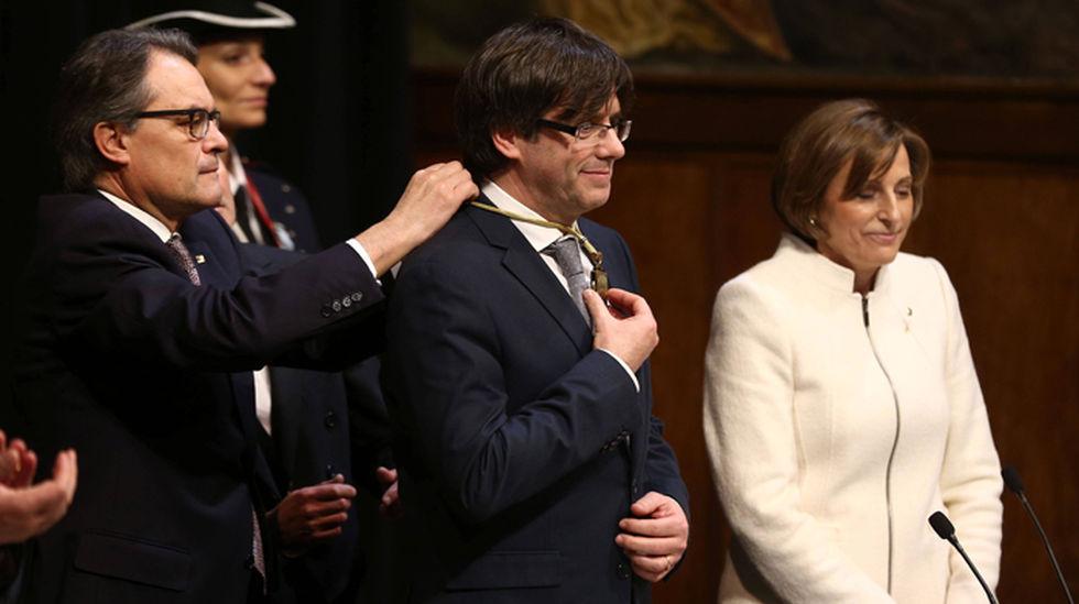 """Puigdemont: """"Mi pésame a la familia"""" de la separatista Casals y """"haremos realidad su sueño"""""""