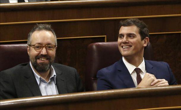 """Ciudadanos: """"Se acaba de visualizar el fracaso"""" de Rajoy con su 'NO' a someterse a la investidura"""