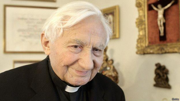 """""""Esas cosas nunca se discutían"""", dijo Georg Ratzinger sobre los supuestos abusos sexuales ocurridos en el coro. Foto Getty"""