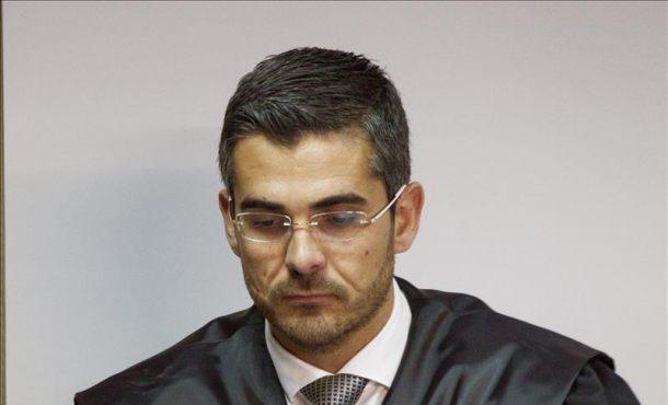 Jaume Campaner, letrado del asesor fiscal Salvador Trinxet, al inicio esta mañana del juicio por el denominado Caso Nóos. Efe